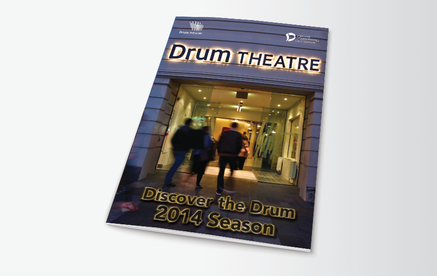 City of Greater Dandenong DL brochure design. 2014 Season's brochure cover